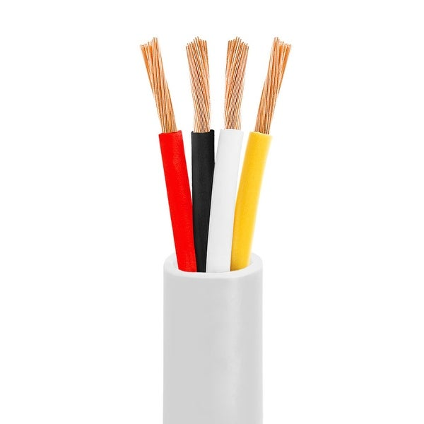16AWG CL2-Rated Four-Conductor In-Wall Speaker Cable - 250 Feet