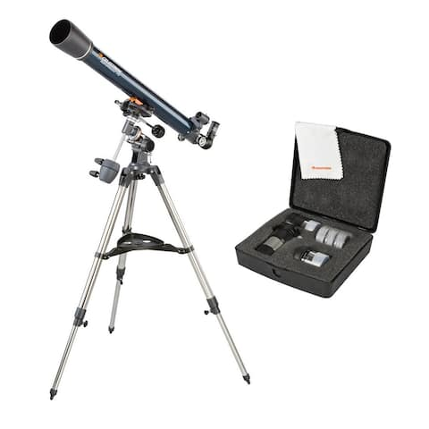 Celestron AstroMaster EQ 70mm Refractor Telescope and Accessory Kit