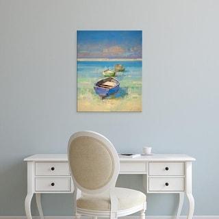 Easy Art Prints Vahe Yeremyan's 'Caribbean Beach' Premium Canvas Art