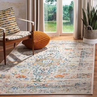 Link to Safavieh Madison Regelinde Oriental Distressed Rug Similar Items in Rugs
