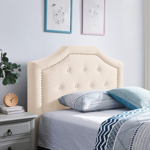 Elinor Contemporary Upholstered Twin Headboard by Christopher Knight Home
