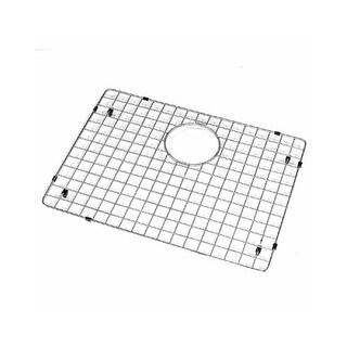"""Houzer BG-4210 Wirecraft 15-1/2""""L x 20-1/2""""W Stainless Steel Kitchen Sink Basin Rack"""