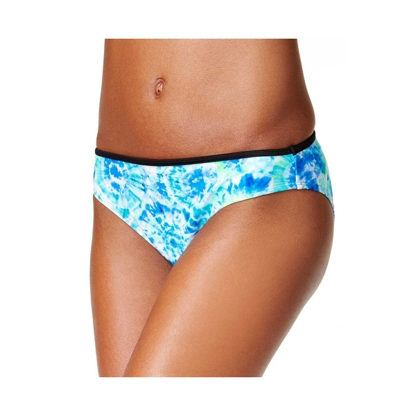 c441ca10f98 Shop California Waves Womens Swimsuit Bikini Bottom Large Blue Green  Carnival Tie Dye - Free Shipping On Orders Over  45 - Overstock.com -  20896264