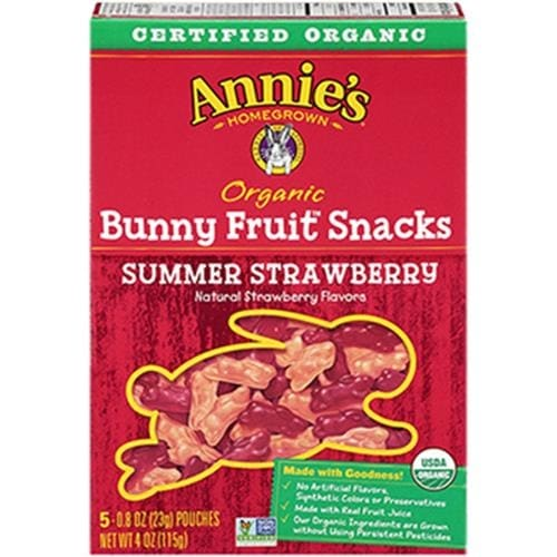Annie's Homegrown - Summer Strawberry Fruit Snacks ( 12 - 4 OZ)