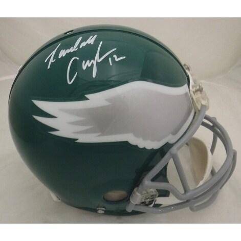 3dda1204149 Shop Randall Cunningham Autographed Philadelphia Eagles Full Size Proline  Throwback Helmet JSA - Free Shipping Today - Overstock - 14304138
