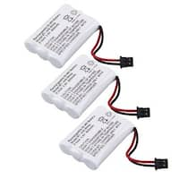 Replacement BT446 Battery for Uniden 5.8GHz TRU8880 / TRU9485-3 / TWX955 Phone Models (3 Pack)