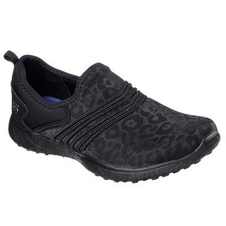 Skechers 23322 BBK Women's MICROBURST-UNDER WRAPS Walking