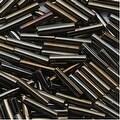 Toho Bugle Tube Beads Size 3 2x9mm Metallic Iris Brown 10 Grams - Thumbnail 0