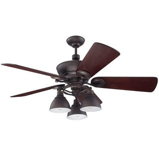 """Craftmade TIM54 Timarron 44"""" - 56"""" Ceiling Fan - Remote and Light Kit Included - Blade Selection Required"""