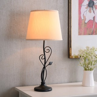 Link to Copper Grove Corbeil Bronze 3-way 26-inch Table Lamp Similar Items in Sconces