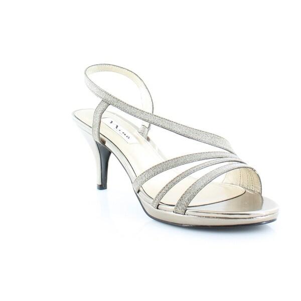 Nina Neely Women's Heels Bronze Glitter - 8