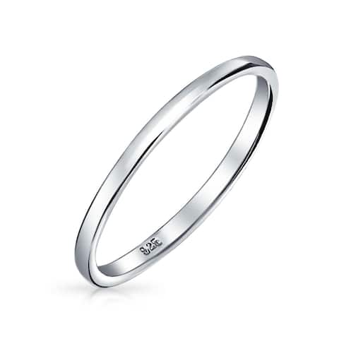 Sterling Silver Wedding Bands.Buy Sterling Silver Women S Wedding Bands Online At Overstock Our