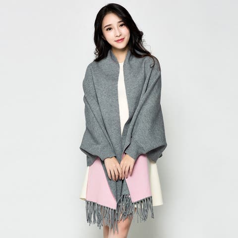 Autumn And Winter Scarf Air Conditioning Shawl Dual Purpose