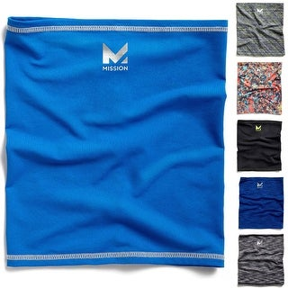 "Mission Athletecare HydroActive Fitness Multi-Cool Neck Gaiter - 9"" x 10.5"""
