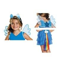 Girls My Little Pony Rainbow Dash Halloween Kit - Standard - One Size