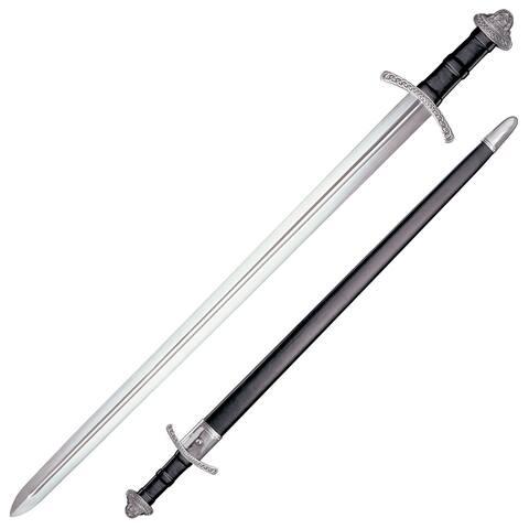 Coldsteel cs88vs-brk cold steel viking sword 30-1/4 carbon steel blade