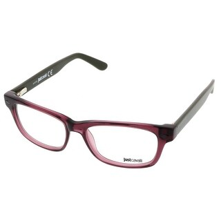 Just Cavalli JC0387/V 072 Plum Rectangle Optical Frames