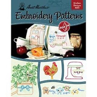 Kitchen Designs - Aunt Martha's Iron-On Transfer Book