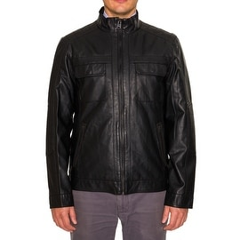 Buffalo Mens Faux Leather Jacket