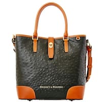 Dooney & Bourke Ostrich Embossed Leather Medium Cayden Top Handle Bag (Introduced by Dooney & Bourke at $288 in Aug 2015)
