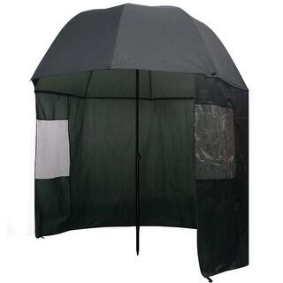 """vidaXL Fishing Umbrella Green 118""""x94"""""""