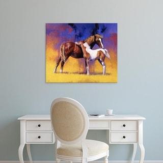 Easy Art Prints Julie T. Chapman's 'Painted' Premium Canvas Art
