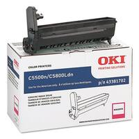 """OKI 43381702 Type C8 Drum Unit - Magenta Oki Magenta Image Drum For C5500n and C5800Ldn Printers - 20000 Page - 1 Pack"""