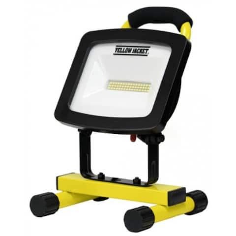 Yellow Jacket WL40048YJDI SMT LED Portable Work Light, 48W, 4000 Lumen