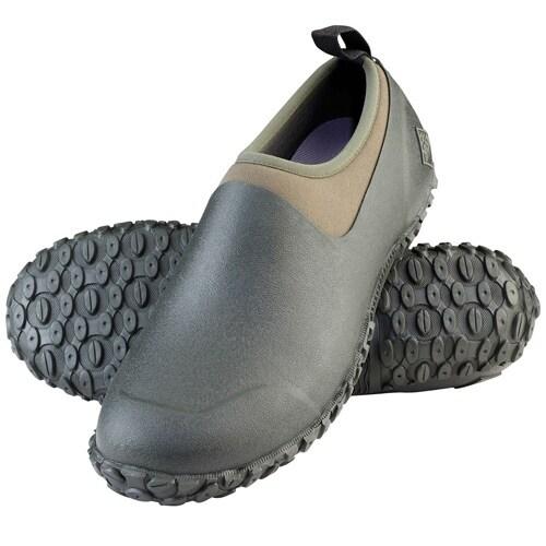 Muck Boot's Men's Muckster II Low Moss/Green Boots w/ Airmesh Lining - Size 14
