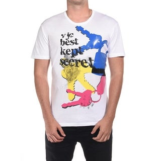 Versace Jeans Couture Cotton Best Kept Secret Graphic T-Shirt White