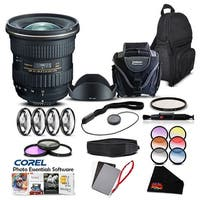 Tokina AT-X 11-20mm f/2.8 PRO DX Lens for (for Nikon) (Intl Model) Lens Accessory Kit - black