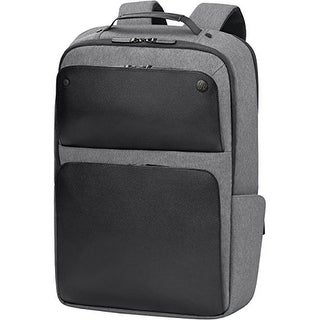 """Exec Black Backpack (fits up to 17.3"""")  Executive Notebook Case"""