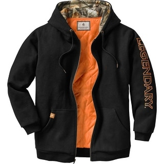Legendary Whitetails Mens Buckshot Workwear Full Zip Hoodie