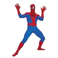 Spider-Man Ultimate Adult Mens Halloween Costume - Standard - One Size