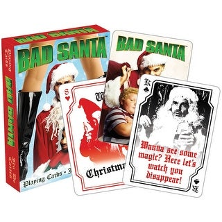 Bad Santa Licensed Playing Cards - Standard Poker Deck - MultiColor