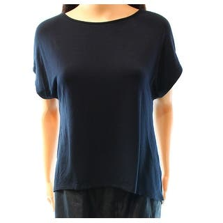 Halogen NEW Solid Black Women's Size Small S Draped Open Back Blouse|https://ak1.ostkcdn.com/images/products/is/images/direct/181fe63f0734b3943c330d3ae5acfb72ae1e69e8/Halogen-NEW-Solid-Black-Women%27s-Size-Small-S-Draped-Open-Back-Blouse.jpg?impolicy=medium