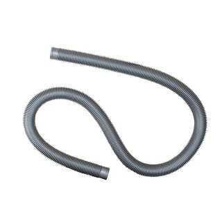 """Heavy-Duty Silver Pool Filter Connect Hose - 6' x 1.5"""""""