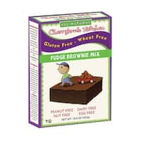 Cherrybrook Kitchen Brownie Mix - Wheat & Gluten Free - Case of 6 - 14 oz