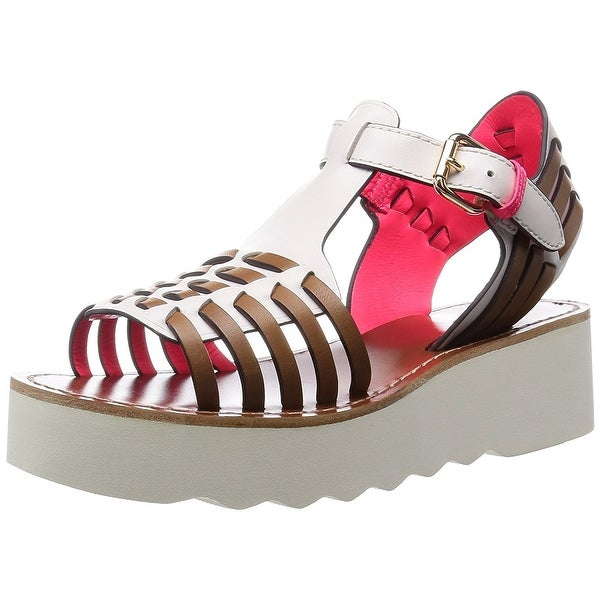 ace80913780 Shop Coach Women s Putnam Platform Wedge Sandals - Free Shipping Today -  Overstock - 16934261