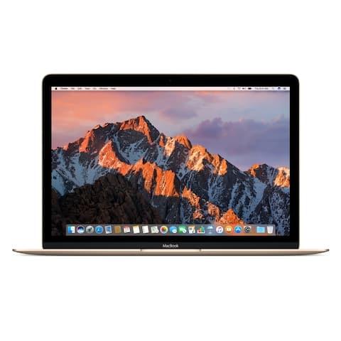 "Apple MacBook MMGL2LL/A Intel Core M3-6Y30 X2 1.1GHz 8GB 256GB SSD 12"",Gold(Certified Refurbished)"