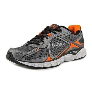 Fila Quadrix Men  Round Toe Synthetic Silver Sneakers