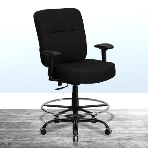 HERCULES Series Big & Tall 400 lb. Rated Ergonomic Drafting Chair