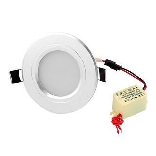 6 LEDs Ceiling Down Spot Bulb AC 85~265V 3~5W w LED Driver Pure White Light