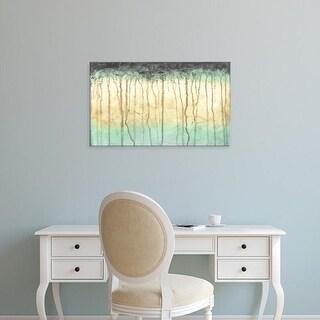 Easy Art Prints Jennifer Goldberger's 'Treeline Light II' Premium Canvas Art