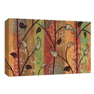 """PTM Images 9-154049  PTM Canvas Collection 8"""" x 10"""" - """"Paisley Garden"""" Giclee Branches Art Print on Canvas"""