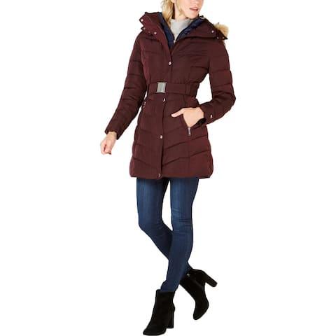 Tommy Hilfiger Womens Puffer Coat Winter Warm