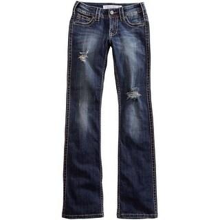 Tin Haul Western Jeans Womens Celebrity Stone Wash 10-054-0340-1771 BU