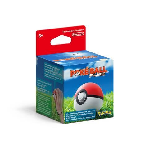 Nintendo Poke Ball Plus Controller - Red/White
