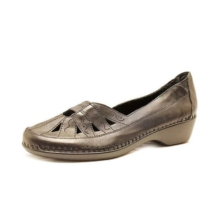 Easy Spirit Dixiee Women N/S Round Toe Leather Loafer