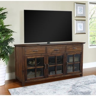 """Link to Abbyson Oliver 70"""" Traditional Wood Media Console Similar Items in TV Consoles"""